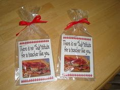 Male teacher gift - There is no substitute for a teacher like you....