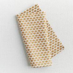 Ikat Mini lattice napkin set