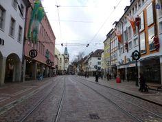 Calles de Friburgo de Brisgovia, Alemania