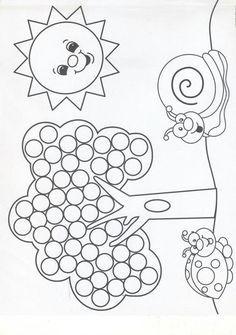 pon ponlarla etkinlik (3) – Okul Öncesi Etkinlik Faaliyetleri – Madamteacher.com