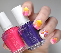 @essiepolish #silkwatercolor #nailart