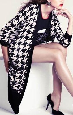 It's Trend: Pied-de-poule e pied-de-coq retornam a cena Fashion.