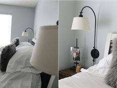 Cheap, Modern + Traditional Wall Lamps that look a LOT like Pottery Barn ones for 1/10th of the price.