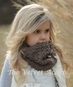CROCHET PATTERNOrylean Cowl Adult Child Toddler by Thevelvetacorn, $5.50