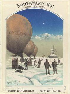 Commander Cheyne and Odoardi Barry, Northward ho!, or, Baffled, not beaten, London, 1879