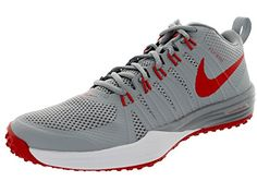 Nike Mens Lunar Tr1 Wlf GryLt CrmsnWhiteMtllc Training Shoe 12 Men US ** Check this awesome product by going to the link at the image.