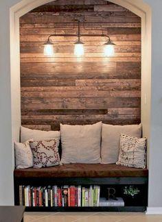 Either side of a fireplace?!- RB  20 Rustic DIY and Handcrafted Accents to Bring Warmth to Your Home Decor ähnliche tolle Projekte und Ideen wie im Bild vorgestellt findest du auch in unserem Magazin . Wir freuen uns auf deinen Besuch. Liebe Grüße