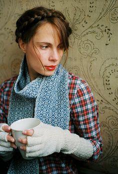 handwoven scarf.