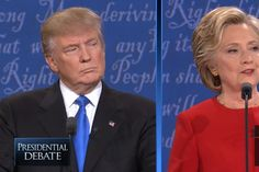 It Took Less Than 10 Minutes For Hillary Clinton To Get Donald Trump To Crack At Debate