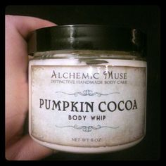 Alchemic Muse Pumpkin Cocoa Body Whip Alchemic Muse Pumpkin Cocoa Body Whip. Tested once. Alchemic Muse Other