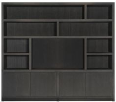 TV/wall unit with compartments Keijser & Cocompartments Built In Furniture, Living Furniture, Home Furniture, Living Tv, Home And Living, Black Closet, Ranch Decor, Apartment Makeover, Tv Wall Design