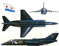 Tipo Avión de caza VTOL Fabricante  Unión Soviética -Yakovlev Diseñado por Alexander Sergueievitch Yakovlev Primer vuelo 14 de abril...