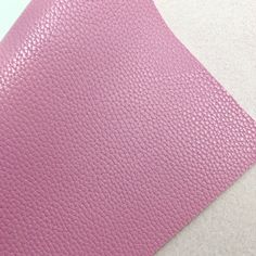 Pink Textured Faux Leather Faux Leather Fabric, Pink Leather, Fabric Textures, White Cotton, Cotton Canvas, Craft Projects, Sad, Bows, Crafts