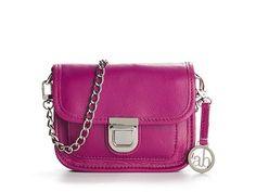 Audrey Brooke Pushlock Cross Body Bag Cross Body Bags Handbags