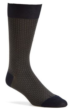 Pantherella 'Jerome' Jacquard Wool Blend Socks