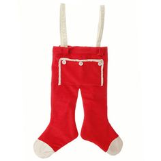 """RAZ Santa Pants Red Made of Polyester Measures 22"""" RAZ 2015 Night Before Christmas Collection This item is on order and arriving Summer 2015"""