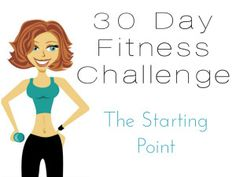 fitness challenge starting point