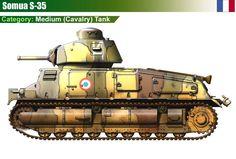 Somua S-35 Cavalry Tank