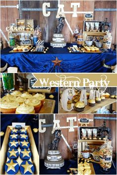 Wild West Cowboy Birthday Party - Spaceships and Laser Beams