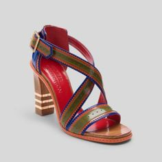 I love this BROGUING AND WEBBED SANDAL from Tommy Hilfiger!