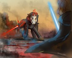 Star Wars the Last Jedi crossover with MLP by Batonya12561