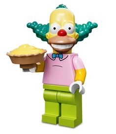 Lego Minifigures Simpsons Serie 1: Krusty el payaso