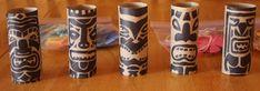 Bricolage totem Koh Lanta des ides simples et originales Totem Koh Lanta, Ko Lanta, Moana Themed Party, Happy Party, Bullet Journal Inspiration, Diy Birthday, Wood Carving, Kids And Parenting, Animation