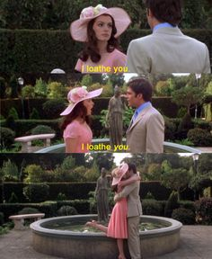 If that's how it works then I loath that hot guy over there The Princess Diaries 2: Royal Engagement