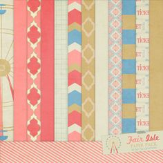 Fair Isle Paper Pack from Mylilcreations.com