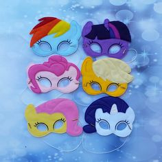 My Little Pony Dress Up Mask Pretend Play Costume от CoastieKay My Little Pony Cumpleaños, Fiesta Little Pony, Little Poney, My Little Pony Birthday Party, Horse Birthday, Felt Books, Kids Dress Up, Mask Party, Christmas Gifts For Kids