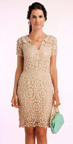 Örgü Bayan Elbise Modelleri 15