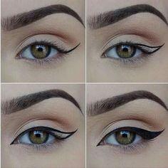 Maquillaje ojos felinos en www.rincondebelleza.com #maquillaje #makeup #ojos #eyes