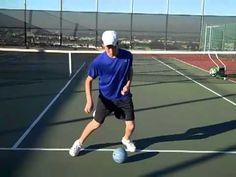 Tennis footwork, drills, agility, and balance video Tennis Camp, Tennis Rules, Tennis Tips, Badminton Tips, Tennis Videos, How To Play Tennis, Tennis Pictures, Tennis Serve, Tennis Lessons