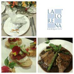 La Lorena Banquetes+ Cena Bodas de oro... #lalorena #banquetes #celebración #cena #eventos #deli #cheftalks 🍽🍷🍾💛