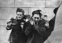 Execution by Hungarian Freedom Fighters of young officers of the Secret Police, Budapest by John Sadovy World Conflicts, History Images, The Right Man, Iconic Photos, Life Magazine, Vietnam War, Photojournalism, Historical Photos, Human Rights