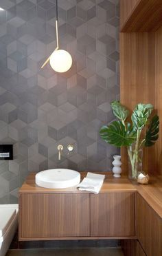 Browse modern bathroom ideas images to bathroom remodel, bathroom tile ideas, bathroom vanity, bathroom inspiration for your bathrooms ideas and bathroom design Read Bathroom Inspiration, Modern Small Bathrooms, Bathroom Interior Design Modern, Decor, Modern Interior, Modern House Design, Bathroom Decor, Minimalist Home, Home Decor