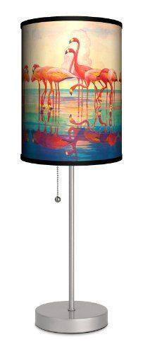 Saturday Evening Post - Pink Flamingos Sport Silver Lamp Lamp-In-A-Box http://www.amazon.com/dp/B009RPS4UW/ref=cm_sw_r_pi_dp_-ExLwb0805SXW