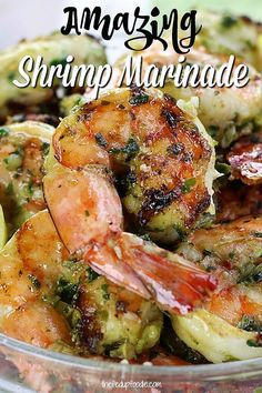 How To Make The Best Marinated Grilled Shrimp Kabobs : This Grilled Shrimp Marinade is so delicious. This is one of the best shrimp recipes I have found. marinade shrimpmarinade shrimprecipe dinnerrecipe lunchrecipe healthyrecipe Make Best Marinated Grilled Shrimp Seasoning, Easy Grilled Shrimp Recipes, Marinated Grilled Shrimp, Best Shrimp Recipes, Garlic Recipes, Grilled Chicken, Chicken And Shrimp Recipes, Seafood Seasoning, Grilling Recipes