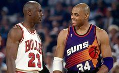 Michael Jordan & Sir Charles Barkley