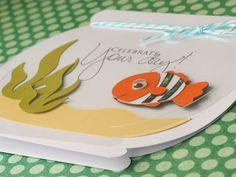 "Another card using Cricut's ""Cute Critters"" cartridge"