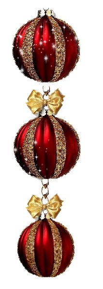 ❊ Red & Gold Christmas memories ❊ / Red & Gold Christmas Bulbs