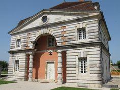 Bâtiment des commis, Saline royale (1774-1779) d'Arc-et-Senans - Ledoux