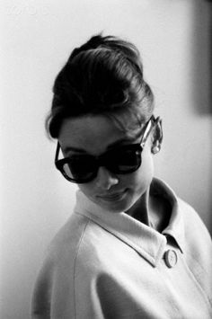 Audrey in Nice, France; 1960