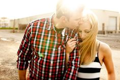 A Midwestern Touch: Wedding Friday? {Engagement Pictures}