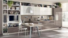 Cuisine laquée haut de gamme Motus | Scavolini site officiel