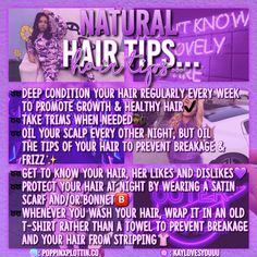 Health Hair Care Advice To Help You With Your Hair. Do you feel like you have had way too many days where your hair goes bad? Are you out of things to try when it comes to managing your locks? Natural Hair Care Tips, How To Grow Natural Hair, Curly Hair Tips, Curly Hair Care, Natural Hair Journey, Curly Hair Styles, Natural Hair Styles, 4c Hair, Healthy Hair