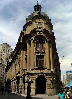 EDIFICIO DE LA BOLSA DE COMERCIO - SANTIAGO de Chile