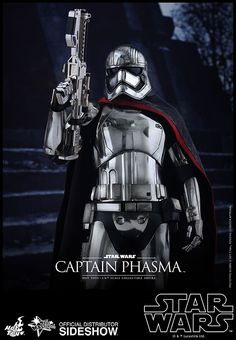The Captain Phasma Sixth Scale Figure by Hot Toys is now available at Sideshow.com for fans of Star Wars Episode VII: The Force Awakens.
