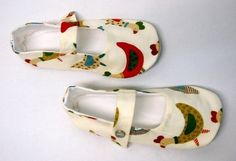 Mary Jane Girl Shoes PDF Sewing Pattern por LenasShoePatterns