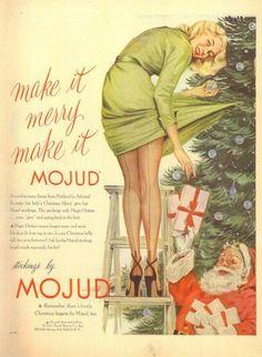 Mojud Stockings ad